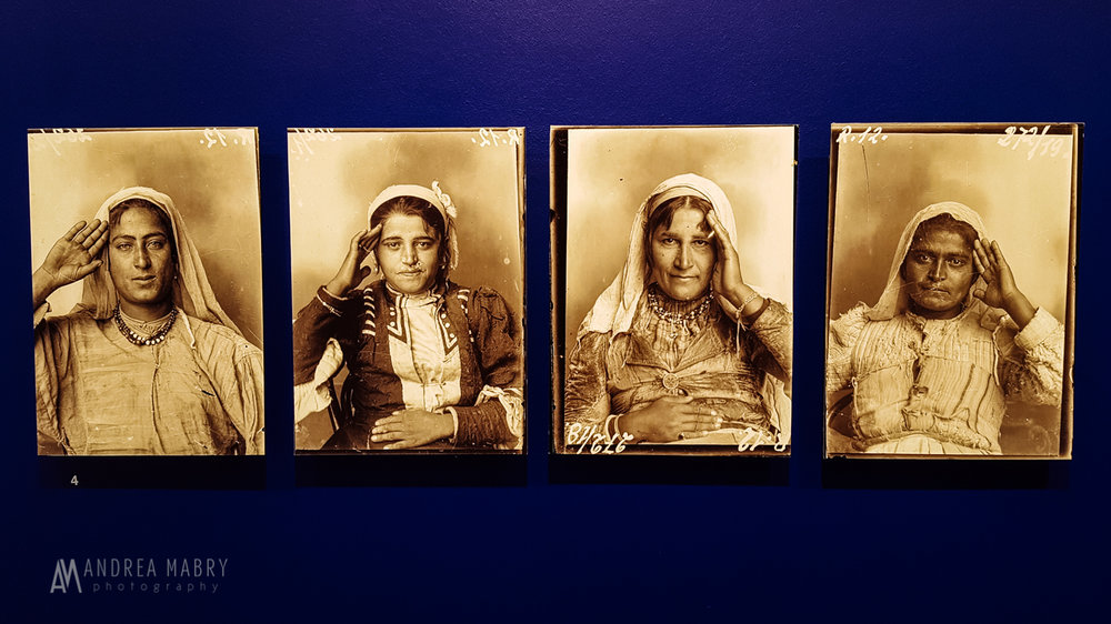 Photos of traditional Albanian dress at the  Marubi National Museum of Photography . The territory of Albania was conquered by the Ottoman Empire, and remained so from the 15th century until 1912. You can see the Ottoman influence in the traditional dress.