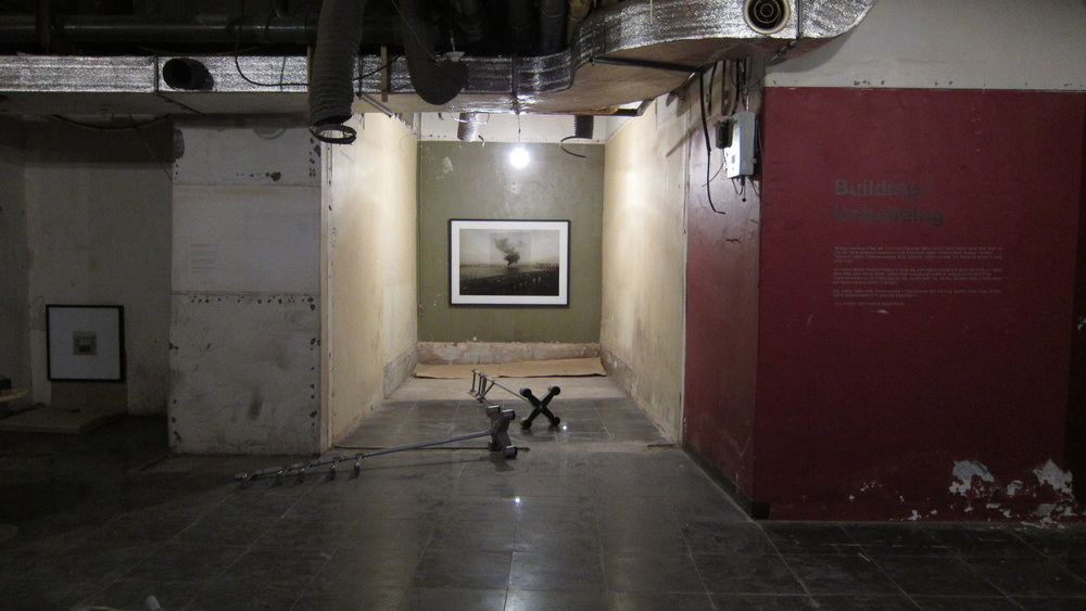 Building/Unbuilding Multi-media Installation December 27 2012-January 31, 2013 Art Space 53, Seoul 53 Hotel, Seoul