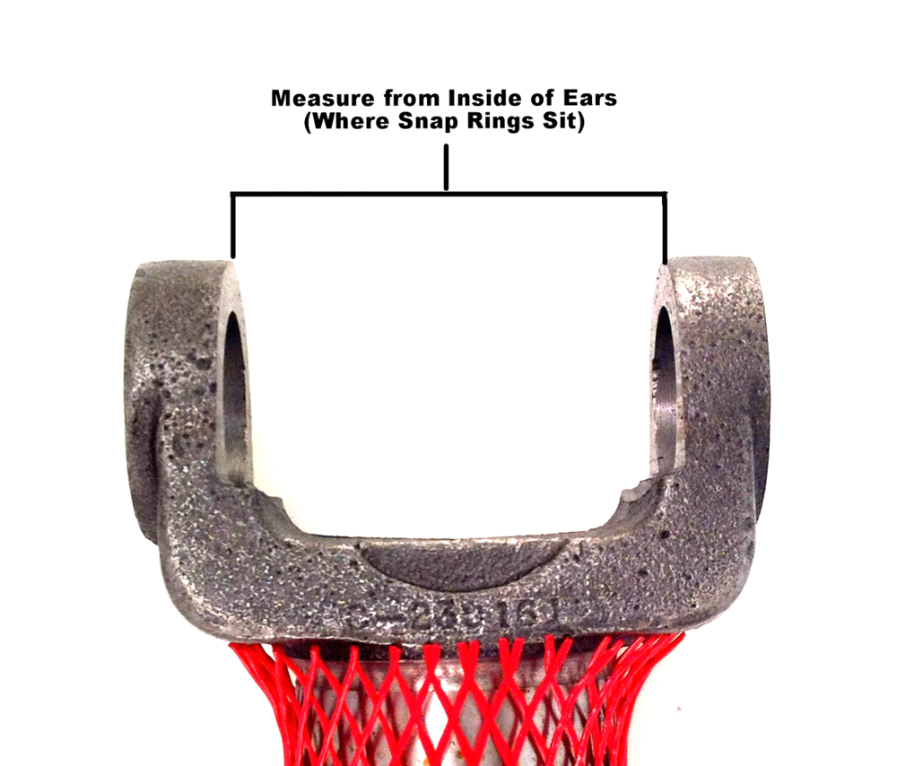 Breadth measurement for joint that takes inside snap rings
