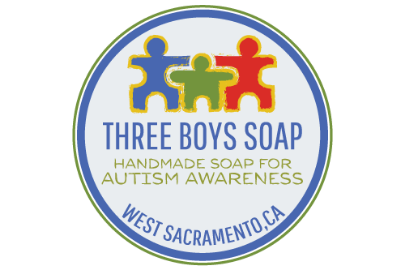 Sacramento Autistic Spectrum and Special Needs Alliance thanks Three Boys Soap, LLC for sponsoring our work by providing funding that helps to pay for the services that we provide to youth and their families. Clicking the above image opens up Three Boys Soap's website in a separate window.