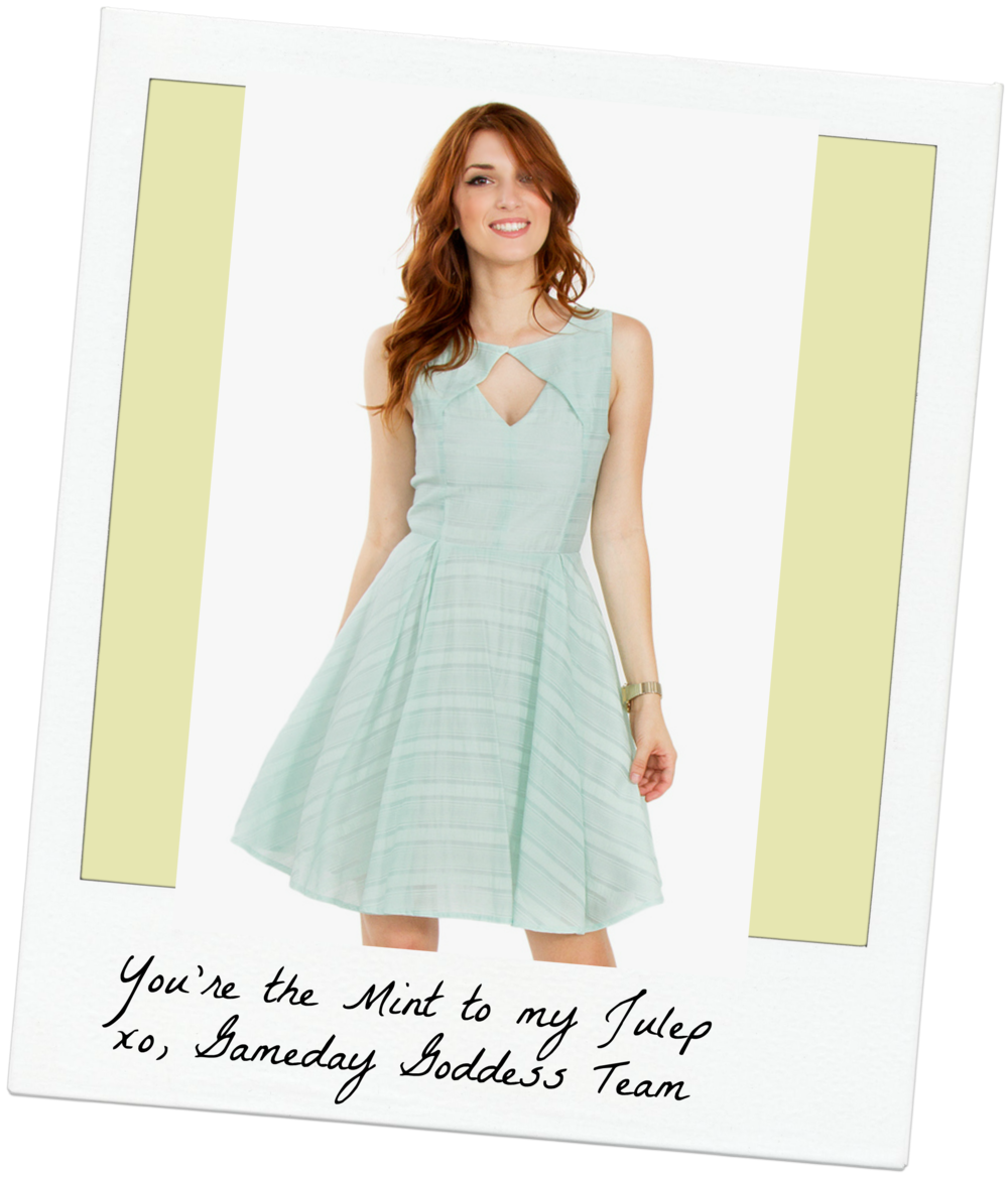 Check out our mint dresses and tops!