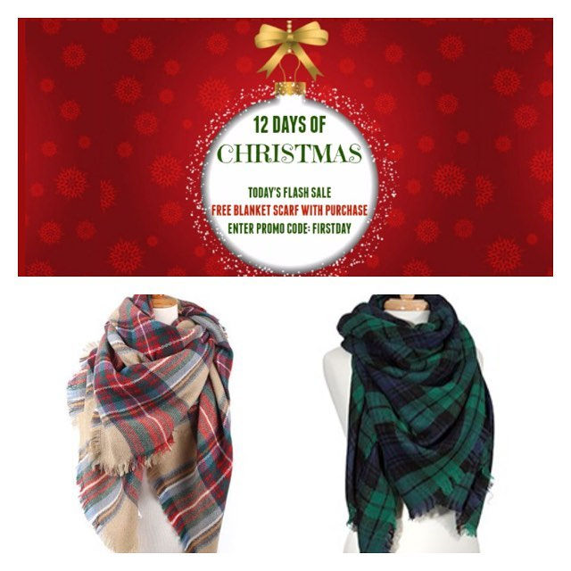 12 days of Christmas has begun with a free scarf with any purchase! Check our insta for a new flash sale every day until 12/17/16. TIS' THE SEASON FOR FREE SERVICES.... FA LA LA LA LA LA LA LA LA! *Free shipping on any order over $50: CODE FREESHIP *Free gift wrapping on any order: CODE GIFTWRAP (shop link in bio & sign up for our mailing list to get $10 off your first purchase)  #alabama #nola #neworleans #saintsfootball #fashiondaily #ggfashionzone #southern #gameday #lsu #lsufootball #lsutigers  #nola #neworleans #sec #mikethetiger #nfl #southern #gameday #lsu #lsufootball #lsutigers  #texas #mikethetiger #nfl #universityofalabama #olemiss #msu #floridastate #ohiostate #texasam #cybersale #deals #sale