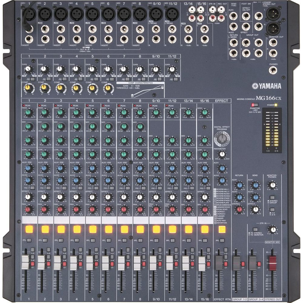 Yamaha 16 Channel Mixing console