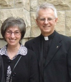 Very Reverend Father Daniel Rohan and wife Kaliope