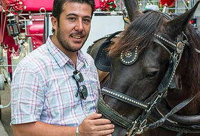 Emrah,a New York City Carriage driver and an entrepreneur!