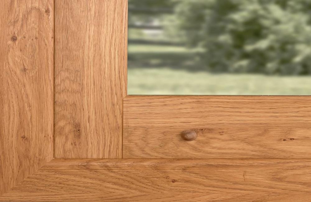 Okna Forester Closeup