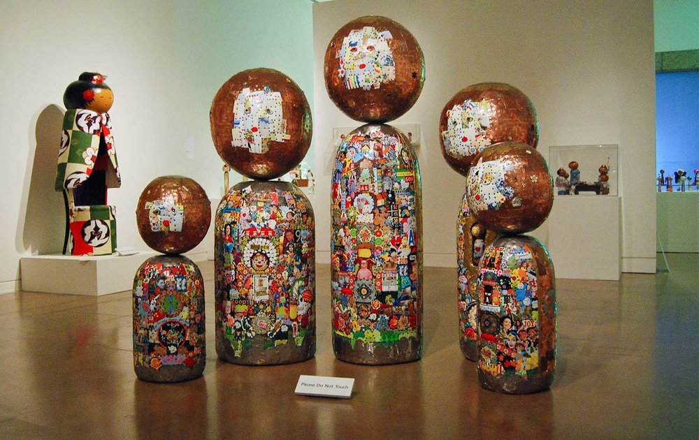 CONTEMPORARY KOKESHI