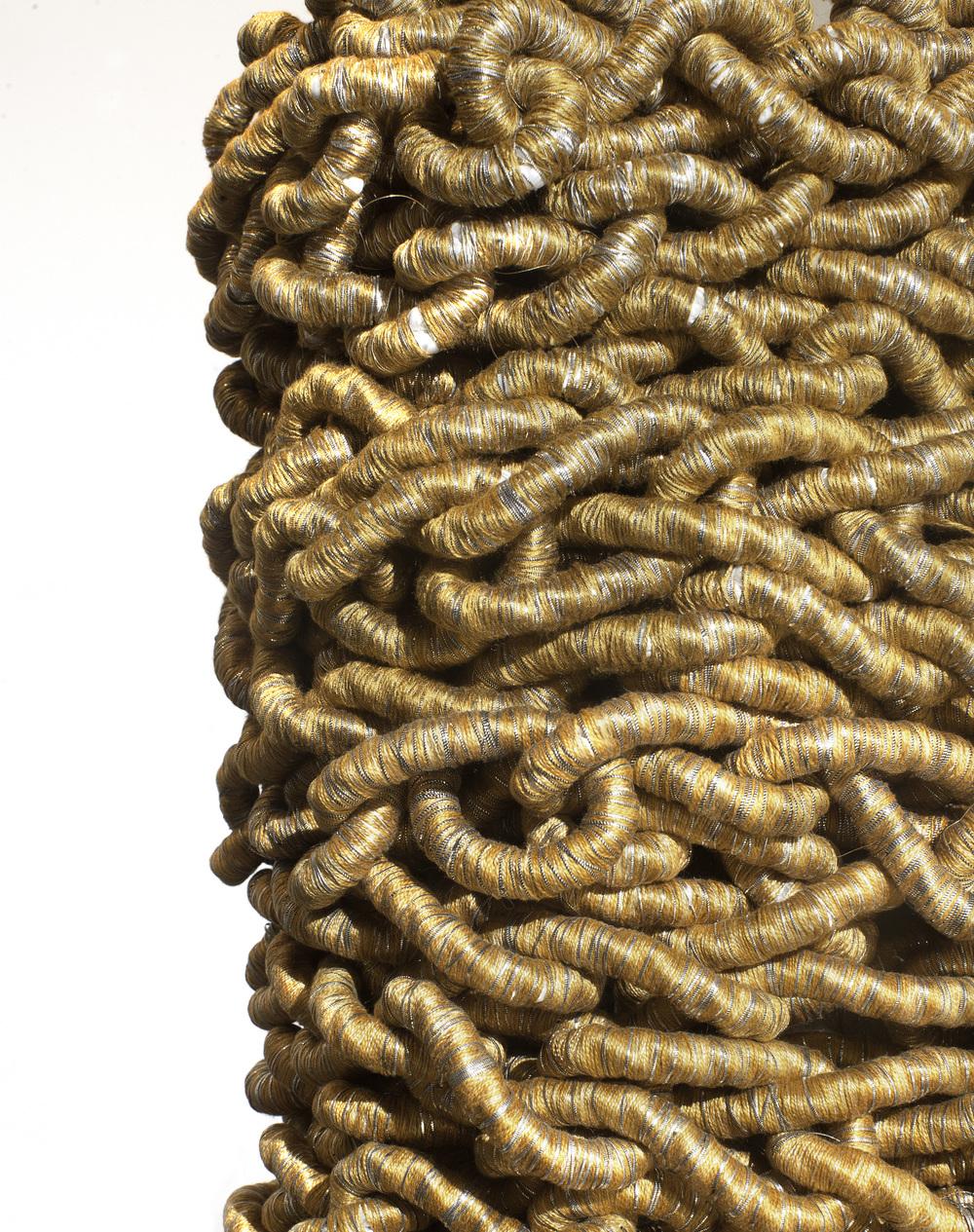 Gold Cloak (for Sisyphus) detail