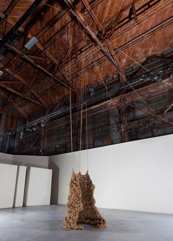 Sagging Ellipse (After Richard Serra)