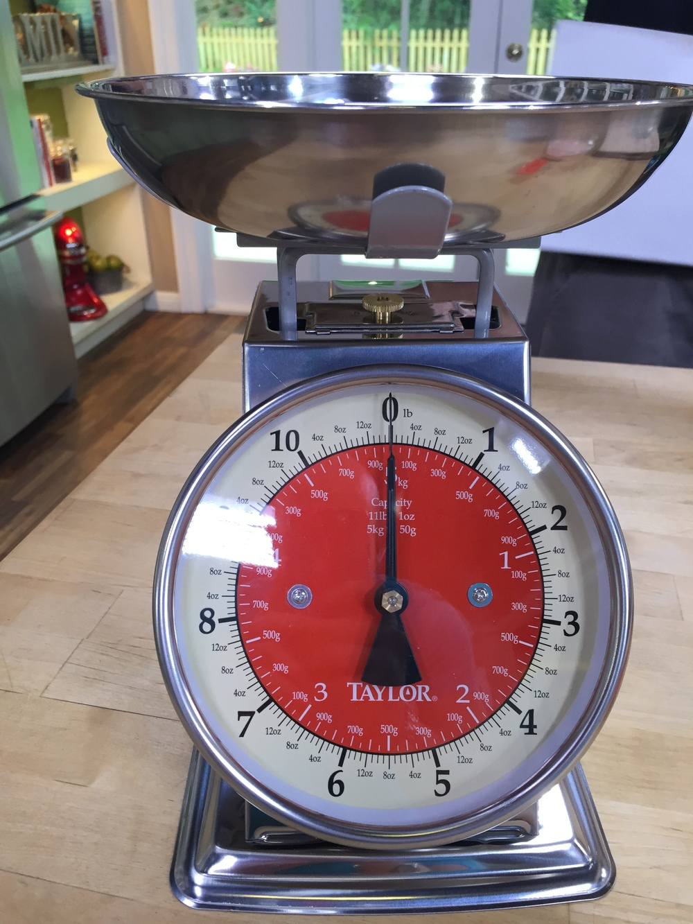 I prefer a digital scale, but if this is what you have on hand USE IT.