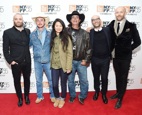 NY FILM FESTIVAL: Nathan Halpern with Chloe Zhao (director), cast and crew of THE RIDER