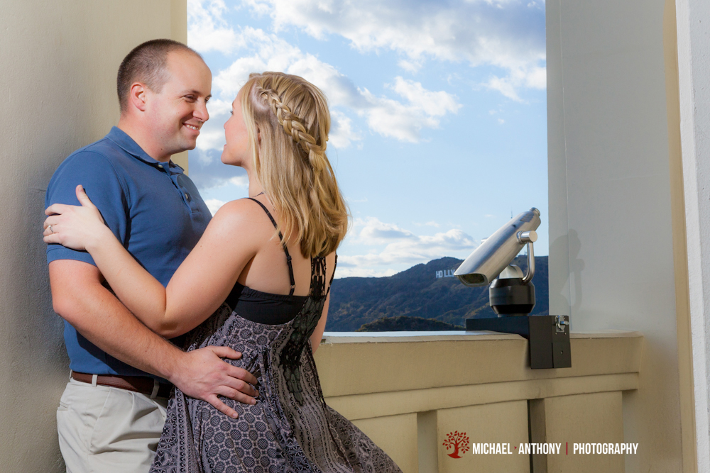 , Jeremy and Chrissy's Griffith Park Engagement Session in LA | Los Angeles Engagement Photographers