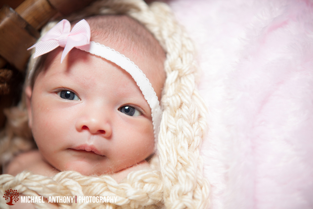 , Santa Clarita Baby Photographers | Newborn Baby Madison | Michael Anthony Photography