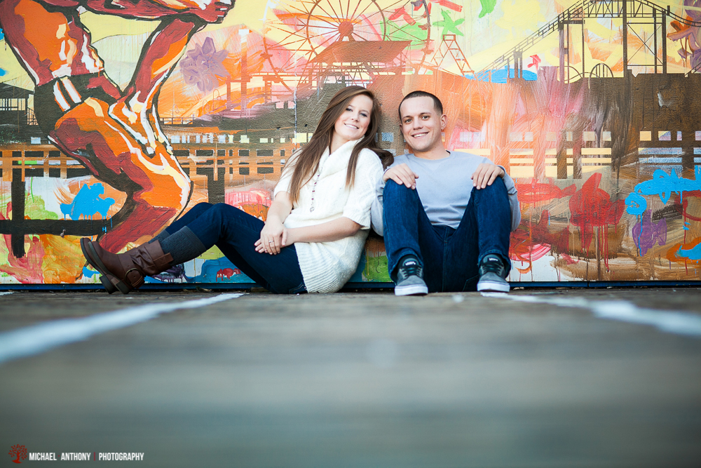 Santa Monica Engagement Session Photos (1 of 12)