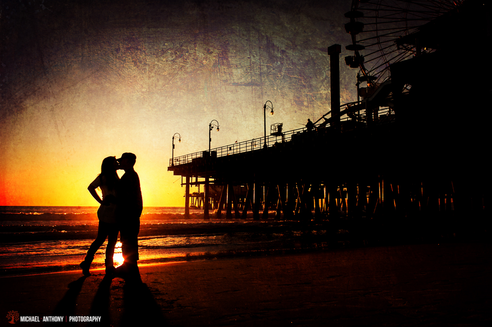 , Michele and Donovan | Santa Monica Engagement Photography | Santa Clarita Wedding Photographers