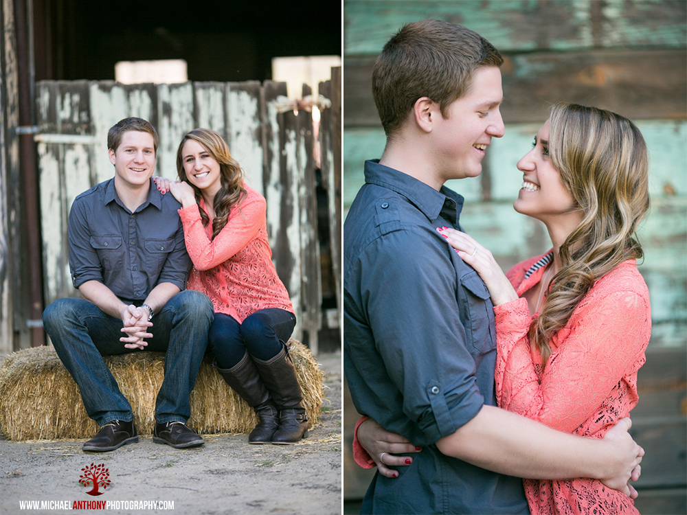 rustic engagement photography ideas