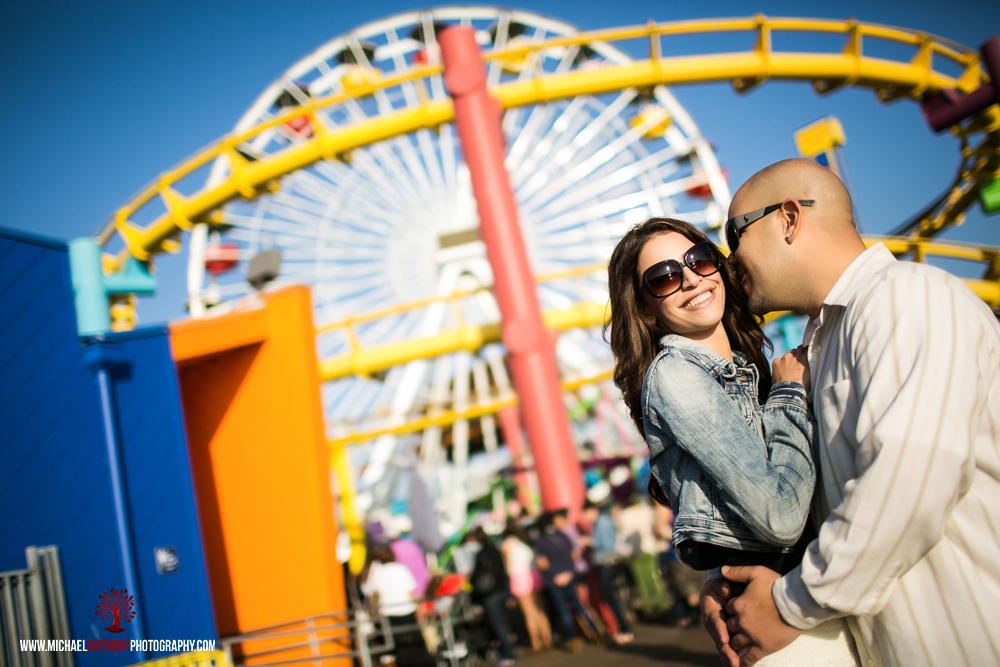 Santa Monica Pier Engagement Session Photos (17 of 29)