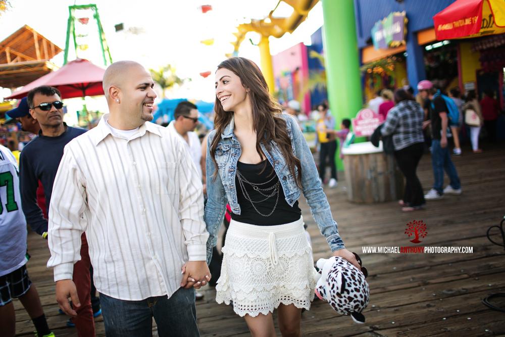 Santa Monica Pier Engagement Session Photos (19 of 29)
