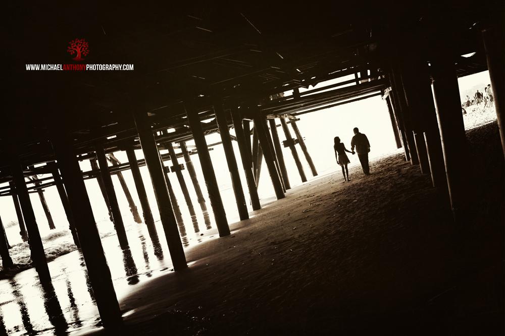 Santa Monica Pier Engagement Session Photos (5 of 29)