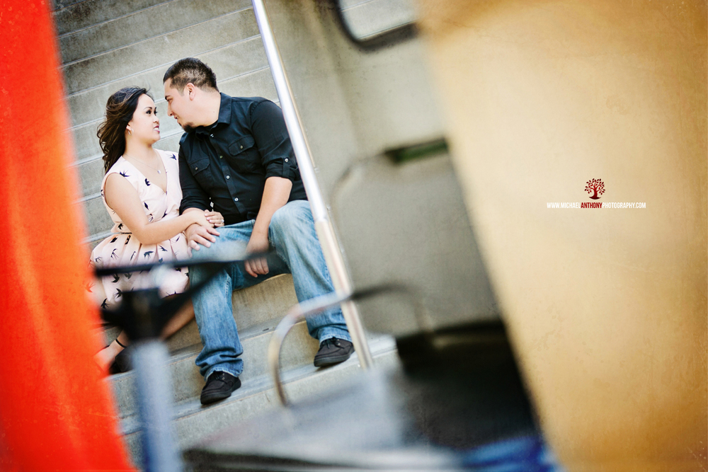Downtown LA Engagement Photos (3 of 22)