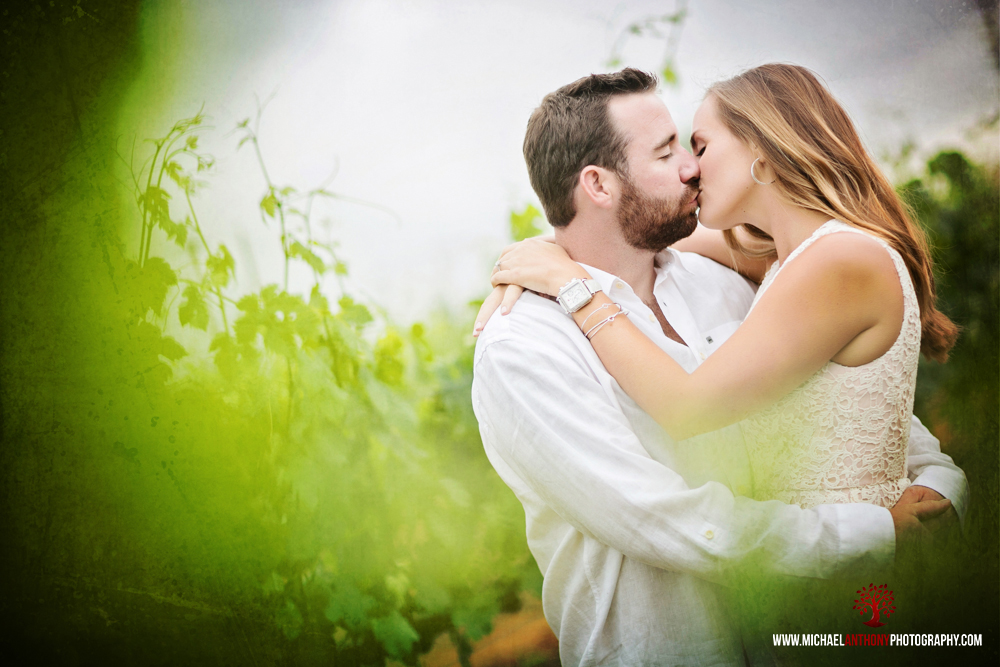 , Andrea and Jason's South Coast Winery Engagement in Temecula Valley | Los Angeles, Valencia Wedding Photographers
