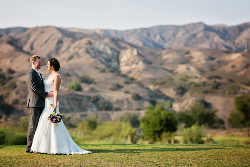 , Stephen and Jess's Angeles Golf Course Wedding | Los Angeles Wedding Photographers