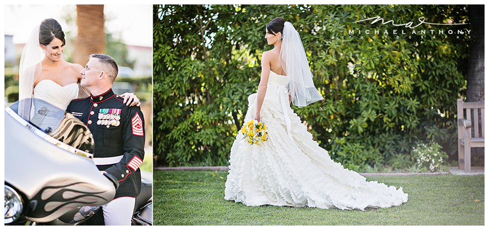 Santa Clarita Bride Mari at her Camarillo Ranch House Wedding