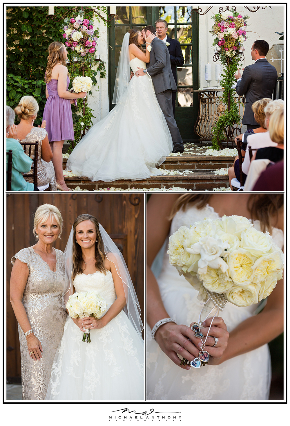 The Villa San Juan Capistrano Wedding Cermony Photos