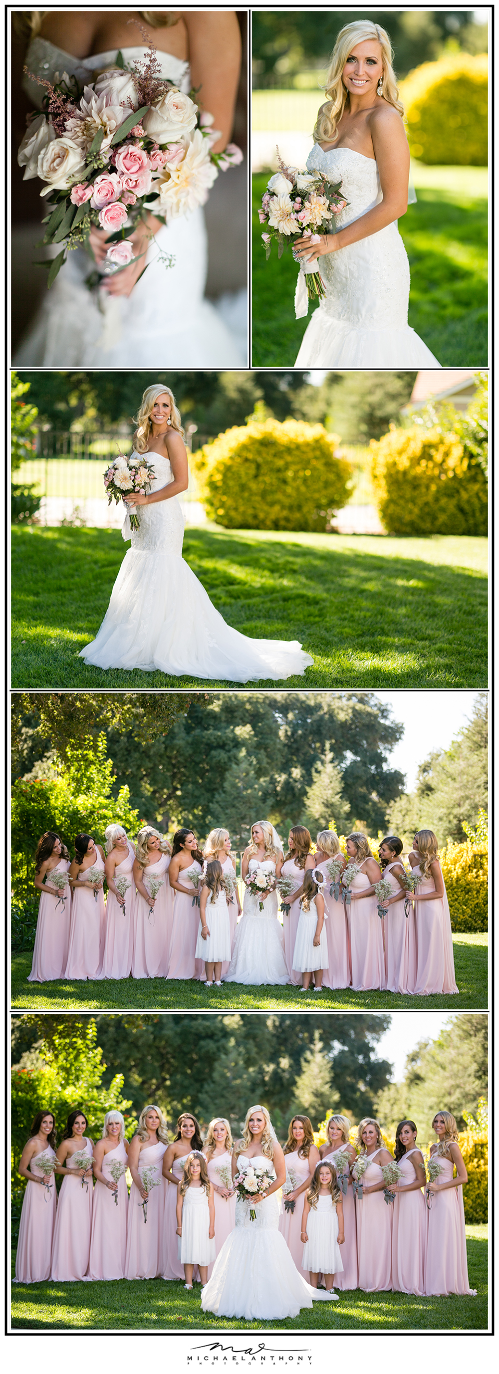 , A Stunning DIY Shabby Chic Estate Wedding | Amanda & Kyle | Los Angeles Wedding Photographers