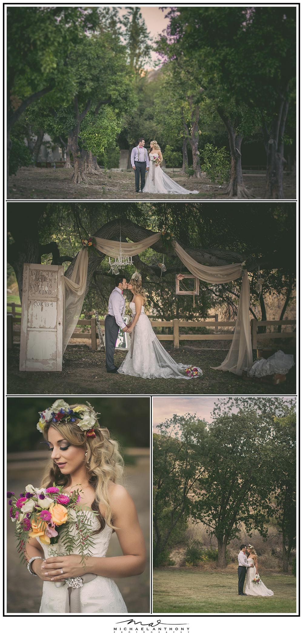Whimsical Shabby Chic Wedding