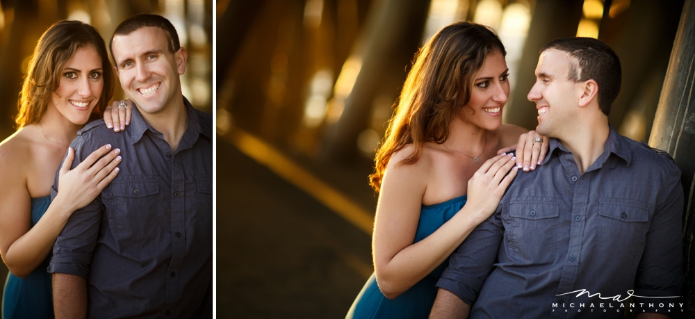 , A Sunset Santa Monica Engagement Session | Jessica and Aaron | Santa Monica Wedding Photographers