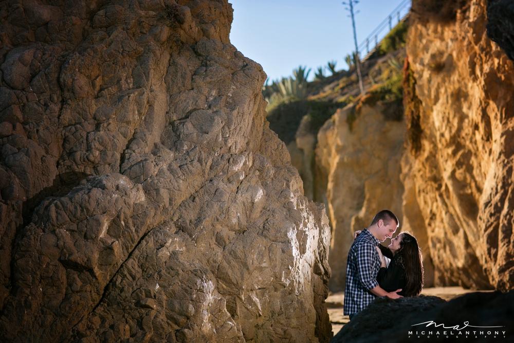 , El Matador Beach Engagement Photos | Melanie and Andrew | Malibu Wedding Photographers
