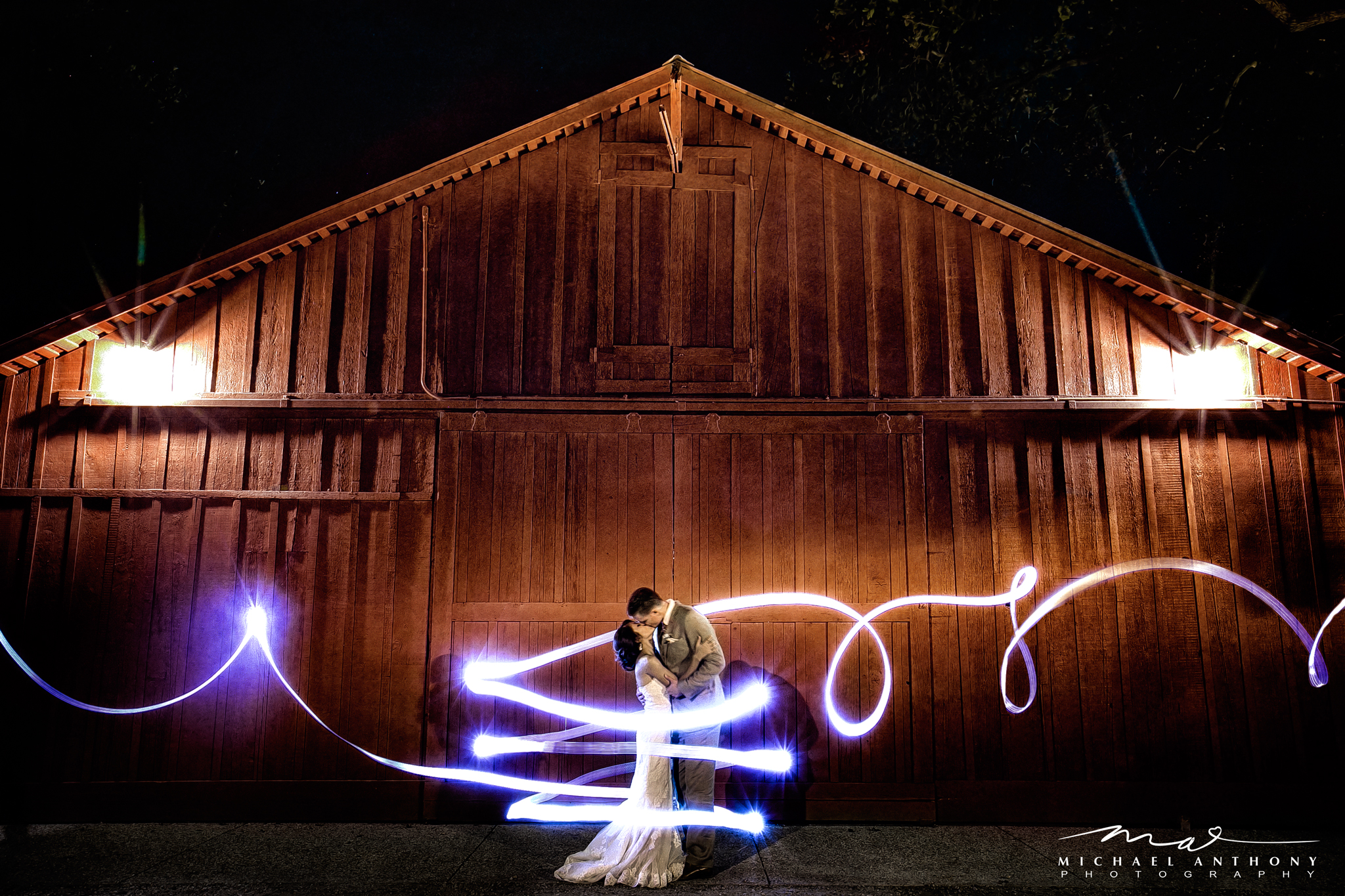 This light painting shot was accomplished with a long exposure, a flash, and the best associate photographer/fairy pixie ever (Mr. Eric K)