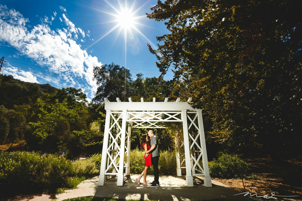 Kristine and Joey's engagement photography session was at Descanso Gardens, one of our most favorite locations for wedding photography in Los Angeles