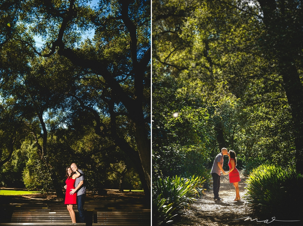 Descanso Gardens Engagement Session Los Angeles Wedding Photographers Kristine And Joey