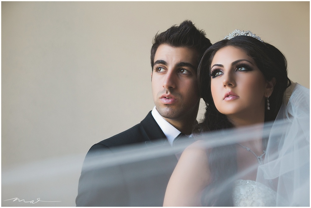 Mary and Michael celebrated their traditional Assyrian Wedding at Westminster Presbyterian Church in Pasadena, with the reception taking place in Pasadena at The Warner Center Marriott