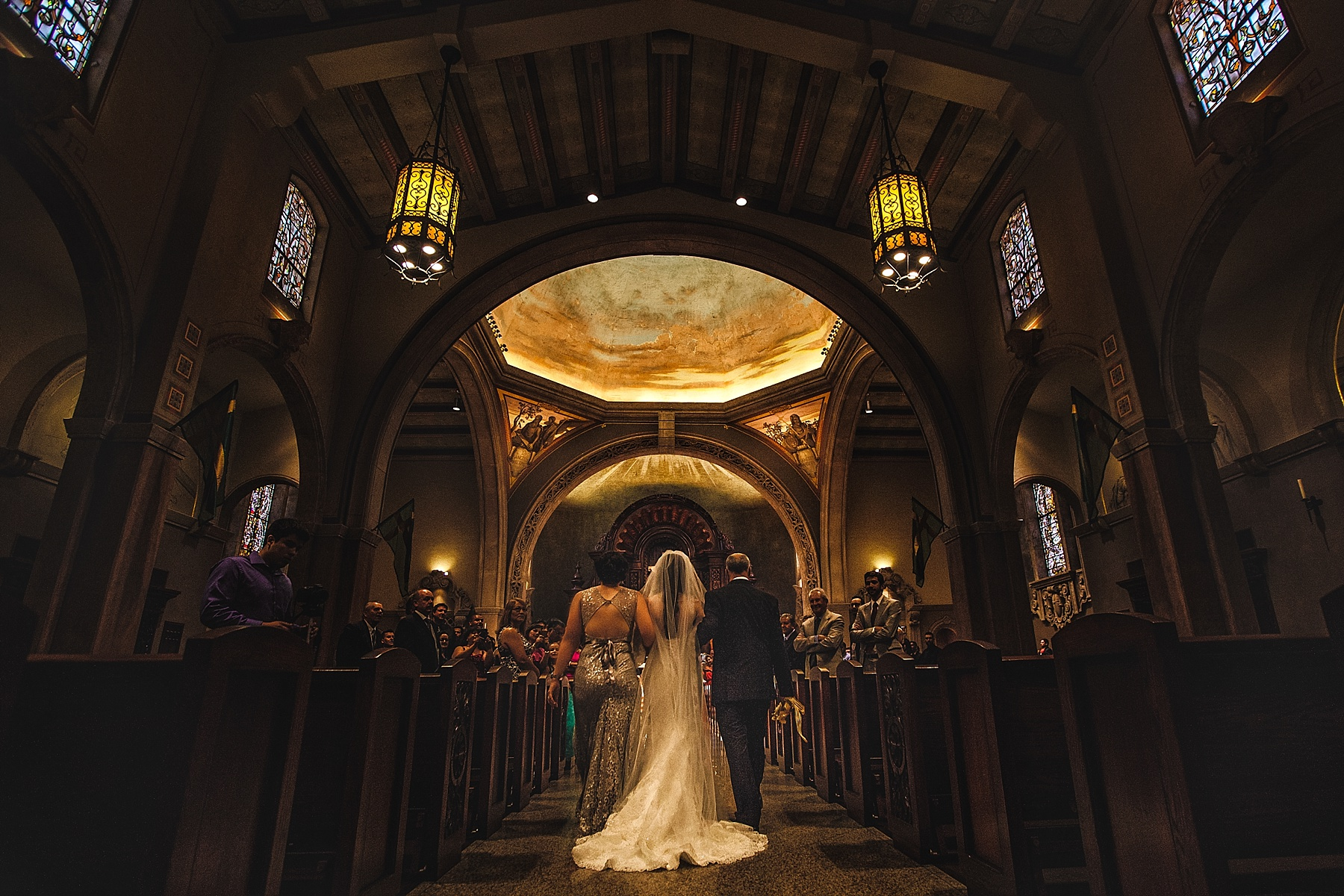 St Charles Borromeo in North Hollywood is one of the most picturesque cathedrals in Los Angeles to have a wedding