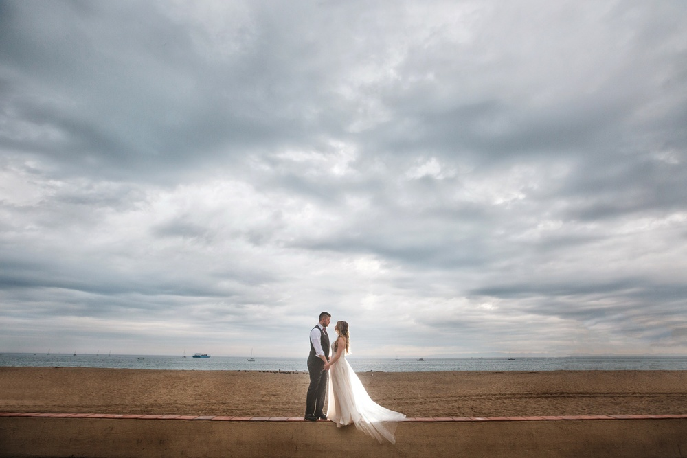 Shannon and Connor got married at a gorgeous venue in Santa Barbara, California