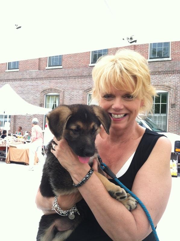 Maydene & Puppy