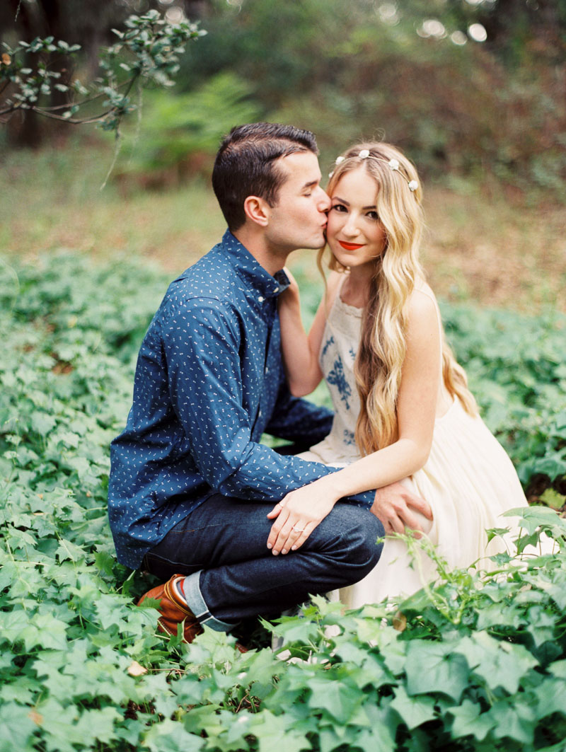 Boho engagement session