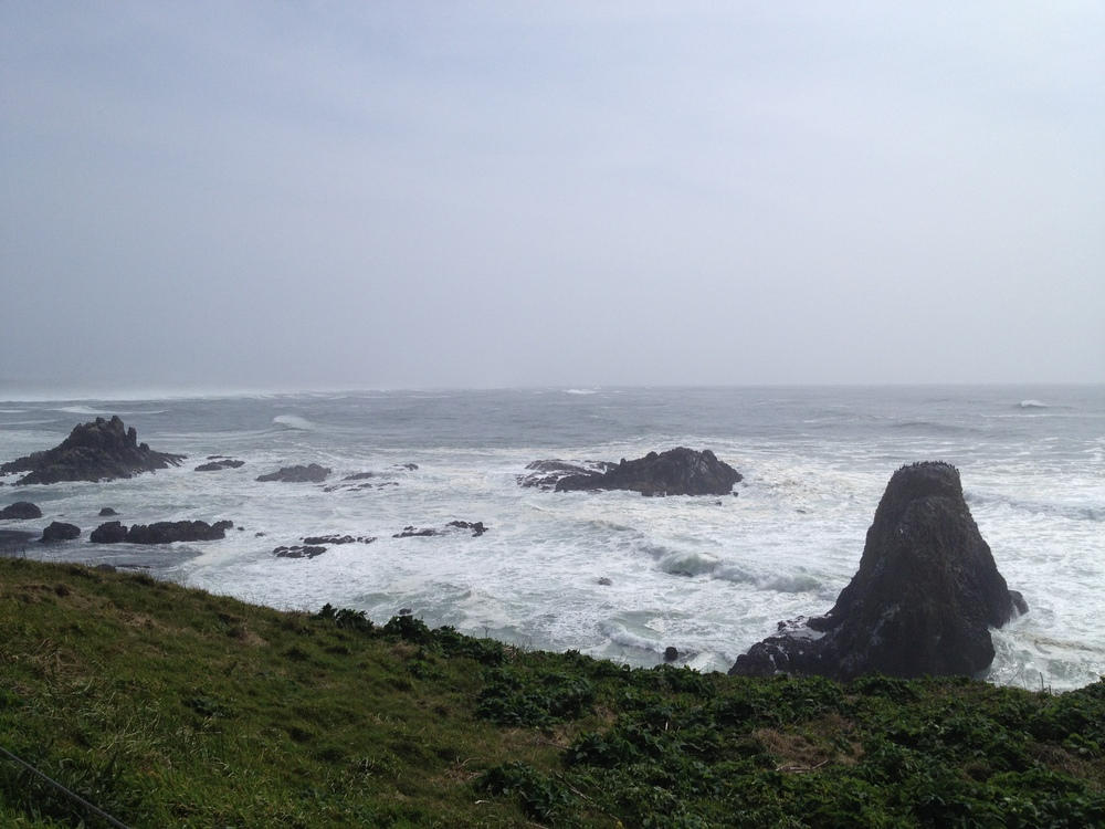 Yaquina Beach, Oregon