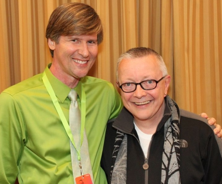 Me, with my new buddy Chip Coffey (we're buddies until he reads this article).