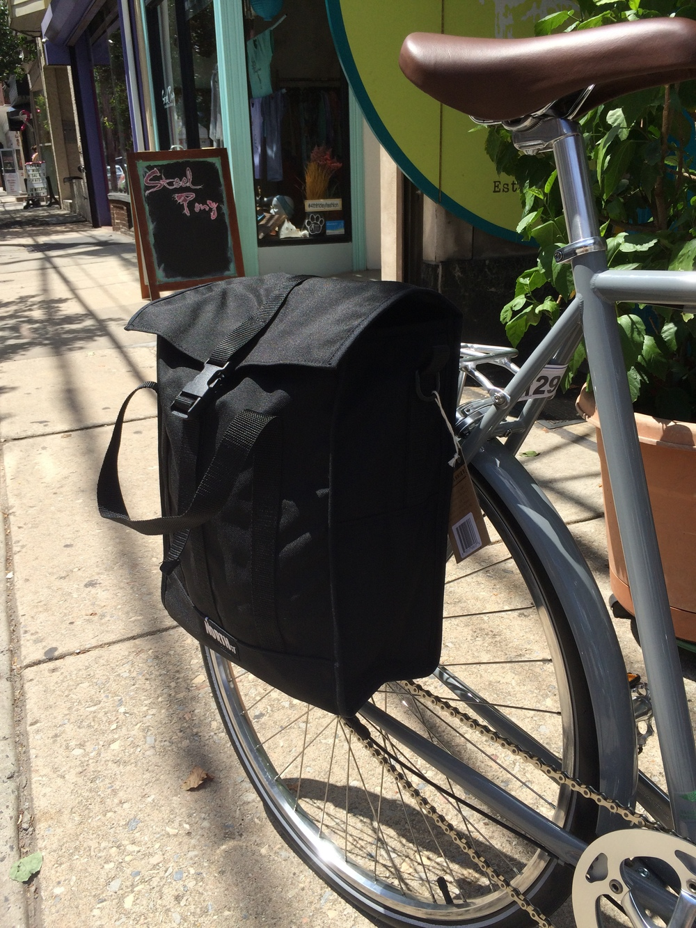 Bicycle Grocery Pannier Bicycle Modifications
