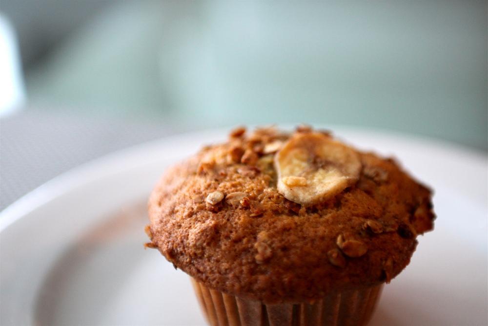 vegetarian-breakfastbanana-muffin-recipe
