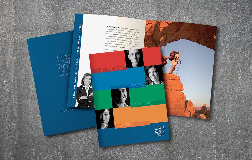 brochures spiral creative services