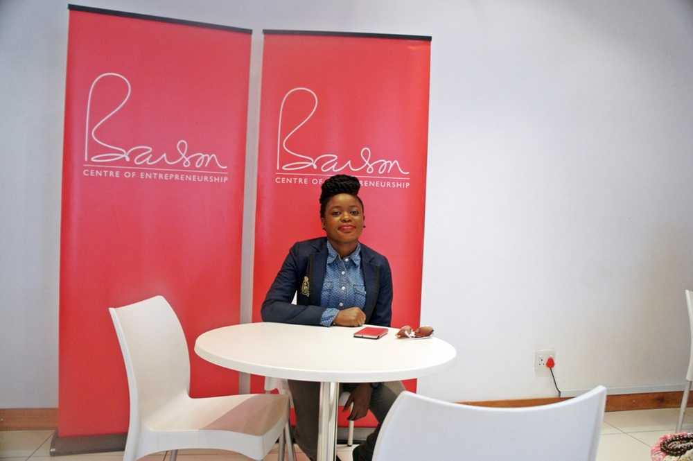Adenike Akinsemolu at the Branson Centre of Entrepreneurship in Braamfontein, Johannesburg