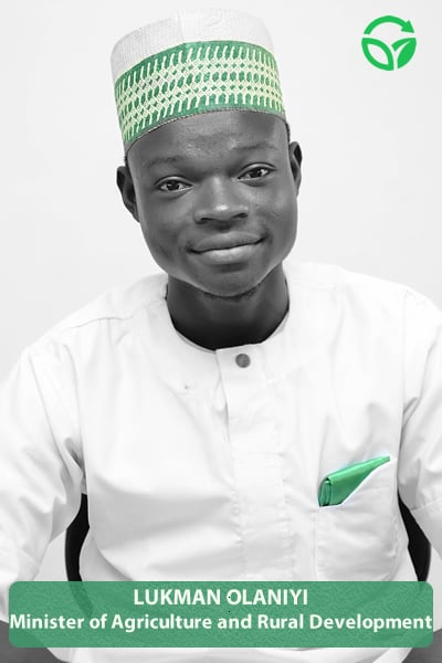 """If you think you are leading and turn around to see no one following, then you are just taking a walk."" – Benjamin Hooks Future Electrical Engineer (Lukman Olaniyi, Minister of Agriculture and Rural Development)"