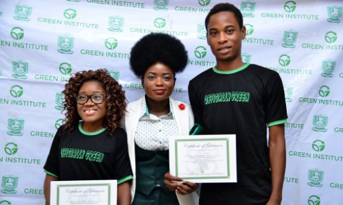2015 Certificate Of Greenness