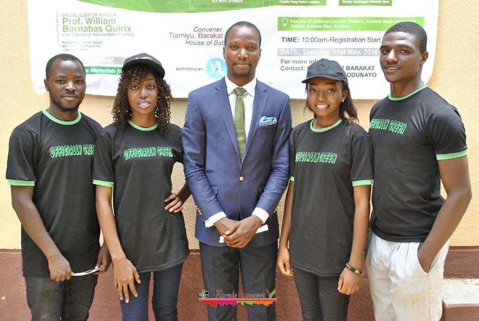 Green Ambassadors at Kaduna State University