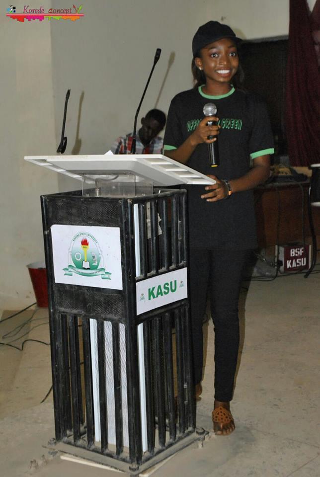 Miss Barakat Tiamiyu (Green Ambassador and Convener)